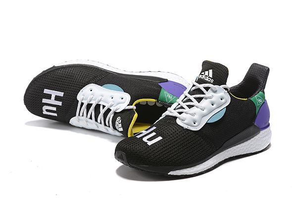 Adidas Pw Hu Holi Solar Boost 2019新款男生休閒慢跑鞋