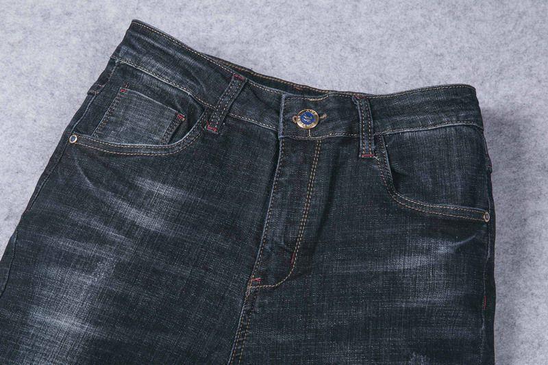burberry巴寶莉 2018新款 簡約商務男生休閒牛仔褲