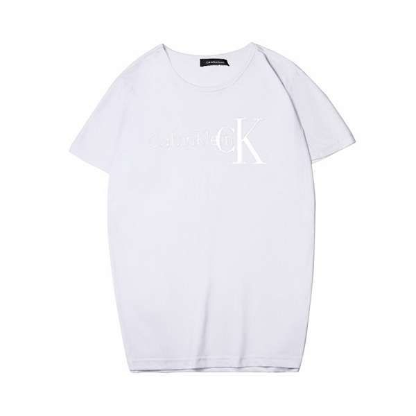 calvin klein t恤 2018新款 純色休閒圓領情侶短袖T恤 PF012款
