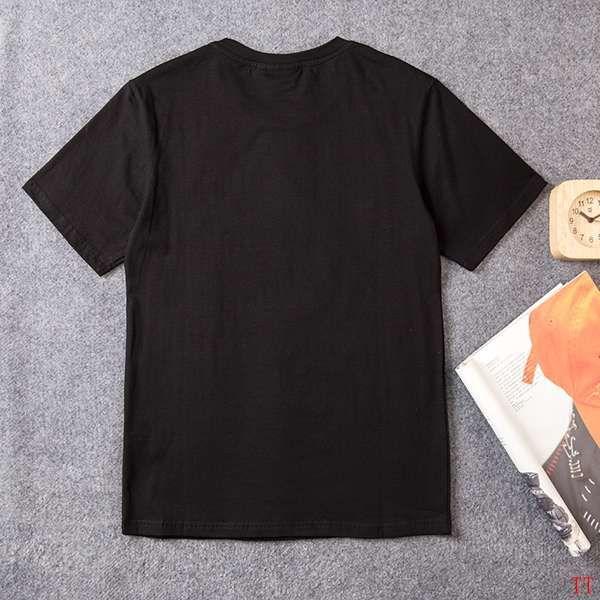 fila斐樂 2018新款 愛心字母印花男生休閒短袖T恤 黑色