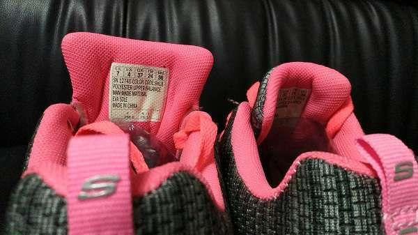 ◆火爆清庫◆skechers健走鞋 斯凱奇爆米花飛線系列 編織網面透氣時尚女鞋 黑灰粉