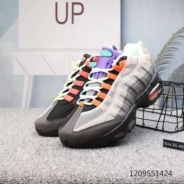 nike air max 95系列 2019新款 撞色男女休閒氣墊鞋