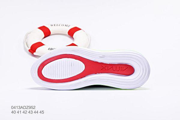 nike air max 720 2019新款編織網面透氣款 全掌增高氣墊男生慢跑鞋