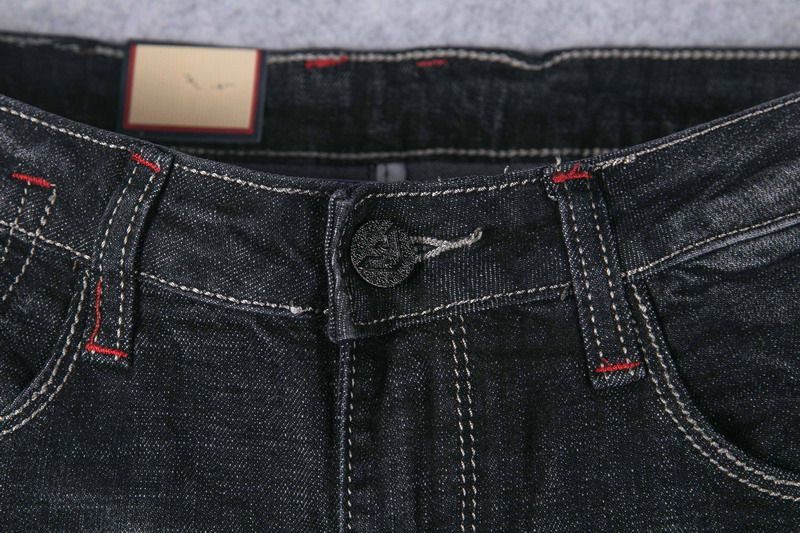 armani牛仔褲 2018新款 小logo潮流休閒牛仔褲
