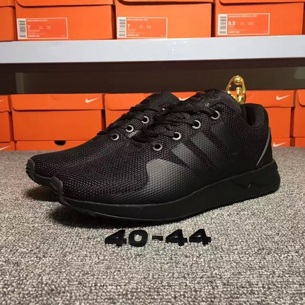 adidas originals zx flux adv-tech 吳亦凡同款時尚男生跑鞋 黑色