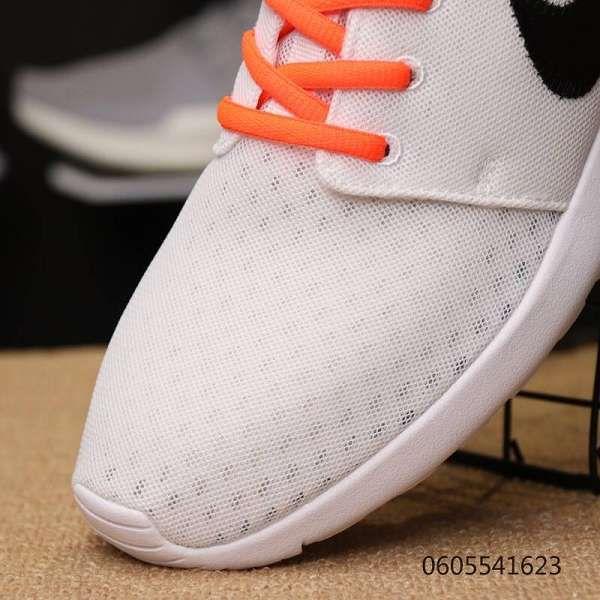 Nike Roshe One SE 2018新款 off white聯名款透氣網面情侶慢跑鞋