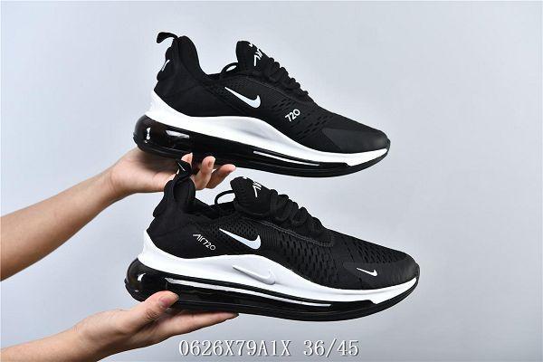 Nike Air Max 720 2019新款 全掌氣墊緩震透氣情侶款慢跑鞋
