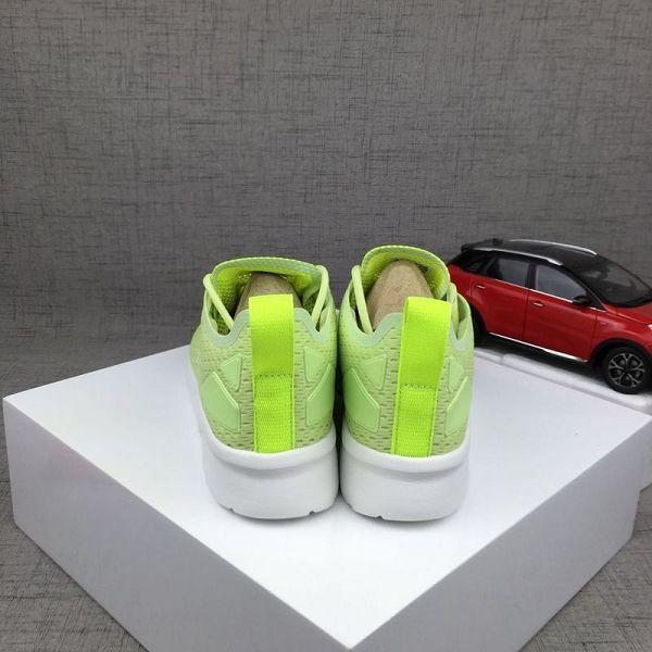 adidas originals zx8000 boost 三葉草網布透氣時尚女生跑鞋 螢光黃