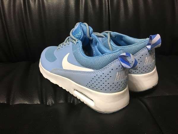 ◆火爆清庫◆nike Air Max Thea 網面透氣女生軟底氣墊跑鞋 淺藍色