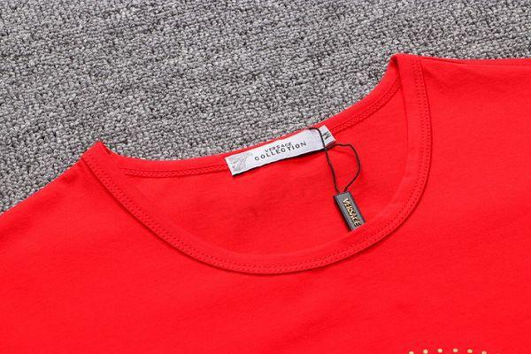 versace凡賽斯短T 2019新款 圓領短袖T恤 MG8228款