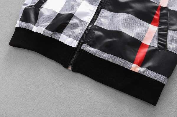 burberry巴寶莉 2018新款 格紋logo男生夾克外套 MG