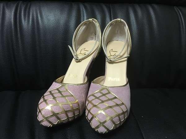 ◆火爆清庫◆Christian Louboutin鞋 女生皮質高跟鞋