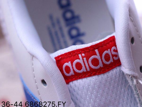 Adidas Cloudfoam Race 2019新款 愛迪達三葉草情侶款休閒板鞋