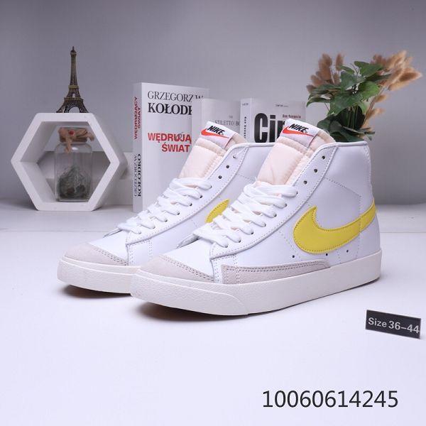 Nike Blazer 2019新款 開拓者高幫情侶款板鞋 帶半碼