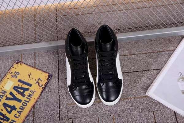 Chanel 板鞋 2017新款 香奈兒壓花皮質休閒女生板鞋 黑白色