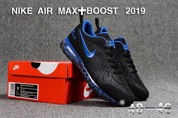 nike air max+boost 2019 爆米花全氣墊慢跑鞋 男生休閒運動鞋