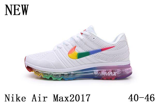 Nike Air Max 2017 2019新款滴塑全掌氣墊男生慢跑鞋