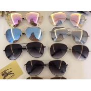 burberry眼鏡 巴寶莉2018新款太陽鏡 3082熊貓眼時尚墨鏡