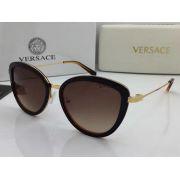 versace眼鏡 凡賽斯2017年5月新款眼鏡 4382貓眼款時尚太陽眼鏡