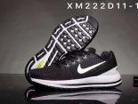 Nike Air Zoom Vomero 13 2018新款 登月針織飛線男子跑步鞋 黑白