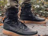 nike special field air force 1 空軍一號高幫透氣時尚情侶款休閒鞋 黑色