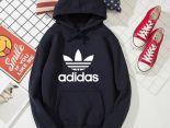 adidas 2019新款帽T 秋冬季薄款情侶款衛衣 PF