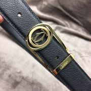 cartier皮帶 卡地亞2018新款 牛皮鋼扣時尚腰帶