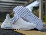 adidas Human Race NMD 2018新款 菲董聯名款網面情侶休閒慢跑鞋 白色