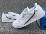 Adidas Originals Continental 80 2019新款 三葉草復古情侶款休閒板鞋