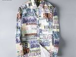 burberry襯衫 2019新款 花字母男生長袖襯衫 MG
