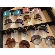 d&g專櫃 2017年新款太陽鏡 1297圓形鏡片全框時尚墨鏡