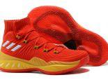 adidas Crazy Explosive Low pk 2018新款 維金斯高幫男生籃球鞋 紅黃色