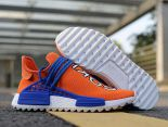 adidas Human Race NMD 2018新款 菲董聯名款網面情侶休閒慢跑鞋 橙藍