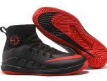 nike hyperdunk flyknit 2018新款 格林3代編織男生籃球鞋 黑紅