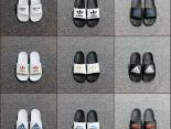 adidas拖鞋 2019新款 簡約經典款男女生休閒拖鞋 多色可選