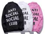 anti social social club 外套 2018新款 字母男生風衣外套 JM