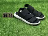 adidas y-3 kaohe sandall涼鞋 山本耀司走秀款綁帶潮流情侶鞋 黑白色