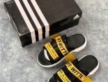 Adidas Shoes off-white 2019新款 愛迪達聯名款男生休閒拖鞋