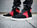 nike jordan westbrook 0.2 威斯布魯克高幫時尚男生板鞋 黑紅色