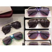 gucci眼鏡專賣店 古馳2017年新款 02005彩色鏡框時尚墨鏡