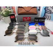 ray ban眼鏡 雷朋2017年4月新款墨鏡 RB3556多邊形時尚太陽眼鏡
