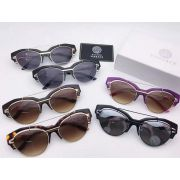 versace太陽眼鏡 凡賽斯2017年5月新款眼鏡 2154半框時尚簡約太陽眼鏡