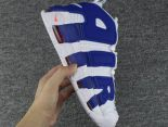 nike air more uptempo pippen 皮蓬大AIR字母 全氣墊情侶款籃球鞋 白藍色