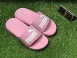 puma popcap swan 蕾哈娜同款沙灘拖鞋 夏季時尚女生一字拖 粉色
