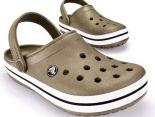 crocs特賣會 Crocband卡駱班情侶款洞洞鞋 棕色休閒鞋 沙灘鞋