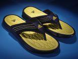 adidas nmd 2017 夏季新款 魚鱗紋底人字拖時尚男生沙灘鞋 深藍黃