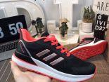 Adidas Questartnd 2019新款 3m反光條網面男生夜跑鞋