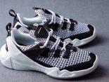 Skechers斯凱奇 Sneaker DLT-A Air Cooled 2018新款 情侶記憶緩震休閒慢跑鞋 白黑