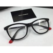 d&g專櫃 2017年新款 1715不規則邊框透明鏡片時尚眼鏡