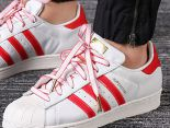 adidas originals superstar 金標 CNY經典貝殼頭運動板鞋 2019新款皮革白中國獅頭刺繡情侶鞋